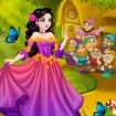 Snow white fairytale dressup